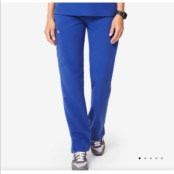 Figs Other - ISO FIGS CARGO SCRUB PANT LARGE TALL WINNING BLUE